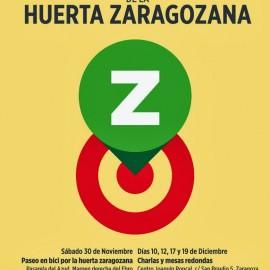 JORNADAS PARA LA RECUPERACIÓN DE LA HUERTA ZARAGOZANA