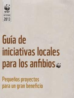 GUÍA DE INICIATIVAS LOCALES PARA LOS ANFIBIOS