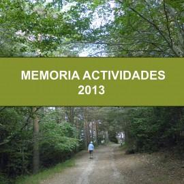 MEMORIA DE ACTIVIDADES DEL GRUPO DE BOTÁNICA DE ANSAR. AÑO 2013