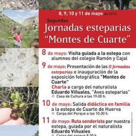 II JORNADAS ESTEPARIAS EN CUARTE DE HUERVA.