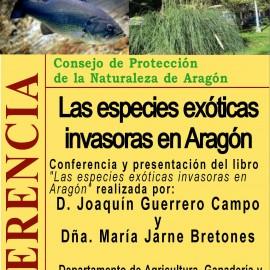 Conferencia: Las especies exóticas invasoras en Aragón