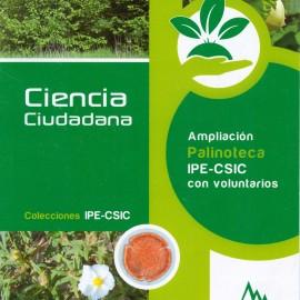 BOTÁNICA. Ampliación Palinoteca IPE-CSIC