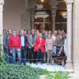 Firma del compromiso por la gestión pública y participativa en Aragón