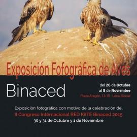 Exposición fotográfica de aves en Binaced (Huesca)