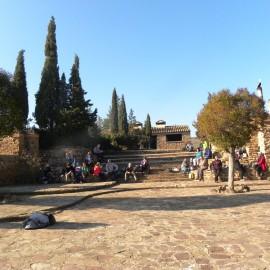 Excursión al Santuario de Rodanas. Épila (Zaragoza)