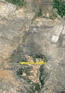 Mapa de la zona (Google)
