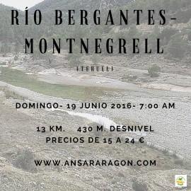 Excursión Río Bergantes-Montnegrell