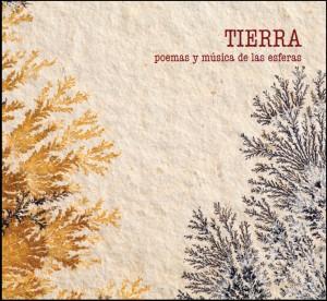 """Portada CD-libro """"TIERRA. POEMA Y MÚSICA DE LAS ESFERAS"""""""