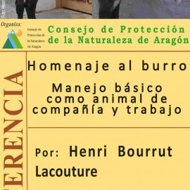 "Conferencia ""Homenaje al Burro"" por Henri Bourrut"