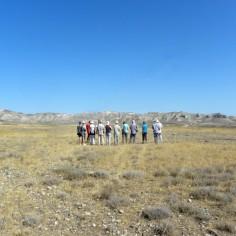 Ante los relieves del Mioceno