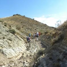 Caminando por la Formación carbonatada de Chelva