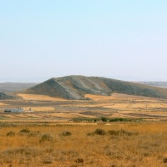 Paleorrelieve en la zona de Belchite