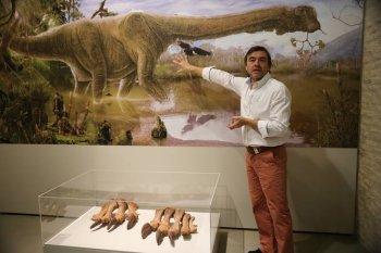 Los dinosaurios de la Patagonia y de la Península Ibérica