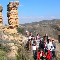 Mallos del Mioceno en Tosos