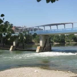 La mala imagen del río Ebro