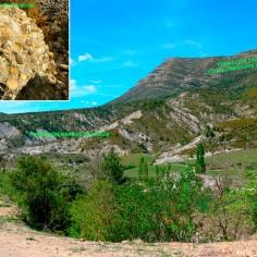 25 Formaciones en Yebra-de-Basa. Al fondo Sta-Orosia (6ª parada)