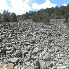 Borrocal. Río de piedras