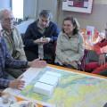 Explicaciones ante el mapa geológico