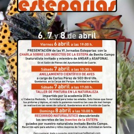6ª JORNADAS ESTEPARIAS EN CUARTE DE HUERVA (Zaragoza)
