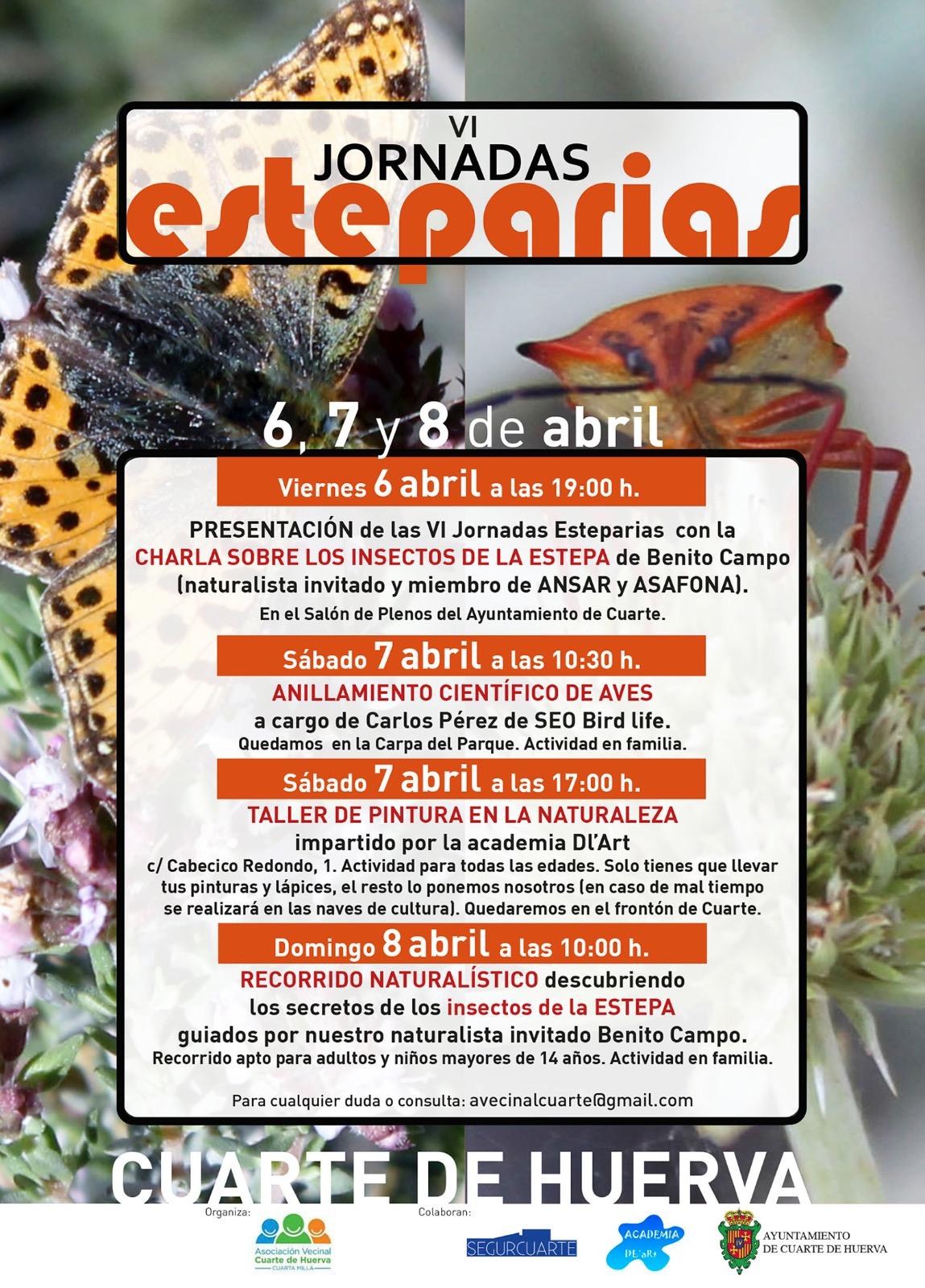 6ª JORNADAS ESTEPARIAS EN CUARTE DE HUERVA (Zaragoza) | ANSAR