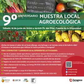 IX ANIVERSARIO DE LA MUESTRA AGROECOLÓGICA