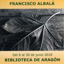 Exposición «Fotografías 1968-2018». Francisco Albalá