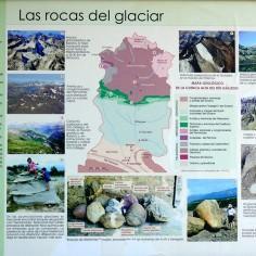 03.- Cartel en la entrada del museo de los glaciares. Senegüé