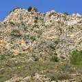 16 Formación Calizas del río Palomar por encima Cuevas Labradas