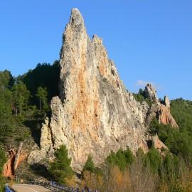 Geología. Por el río Ancho en Montalbán (Teruel)