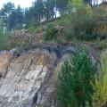 30 Formación Utrillas coronadas por una capa de carbón