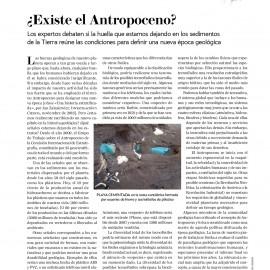 ¿Existe el Antropoceno?