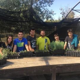 Visita de la Asociación Cave Cane al Vivero