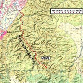 Geología. POR EL BARRANCO DE LAS ALMUNIAS