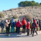 Juan Pablo aclarando las diferencias entre una terraza del Ebro y el Abanico aluvial N 4 del Bco de la Casa