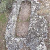 Asentamiento romano. Tumbas antropomorfas
