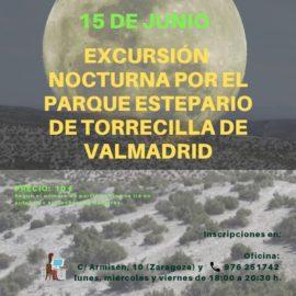 Excursión nocturna «IX LUNA ESTEPARIA»