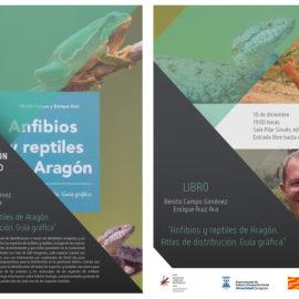 Presentación del libro Anfibios y reptiles. Atlas de distribución. Guía gráfica.