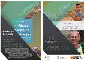 Libro anfibios y reptiles de Aaragón