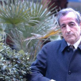 Adolfo Aragüés recibe el Premio de Medio Ambiente de Aragón 2020.