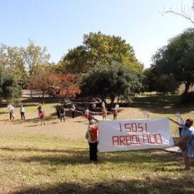 CONCENTRACIÓN EN DEFENSA DEL ARBOLADO DEL PARQUE TORRE RAMONA