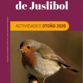 GALACHO DE JUSLIBOL. ACTIVIDADES OTOÑO 2020