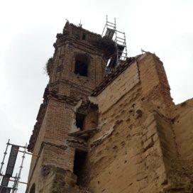 Primera muerte de un pollo de cigüeña blanca en el convento de Santo Domingo de Caspe