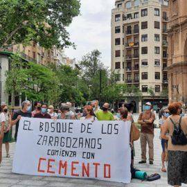 Los movimientos ecologistas se rebelan contra los proyectos de plaza Santa Engracia y Salamero